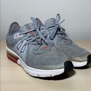 NIKE Air Max Sequent 3 Grey  Boys Youth Size 4.5